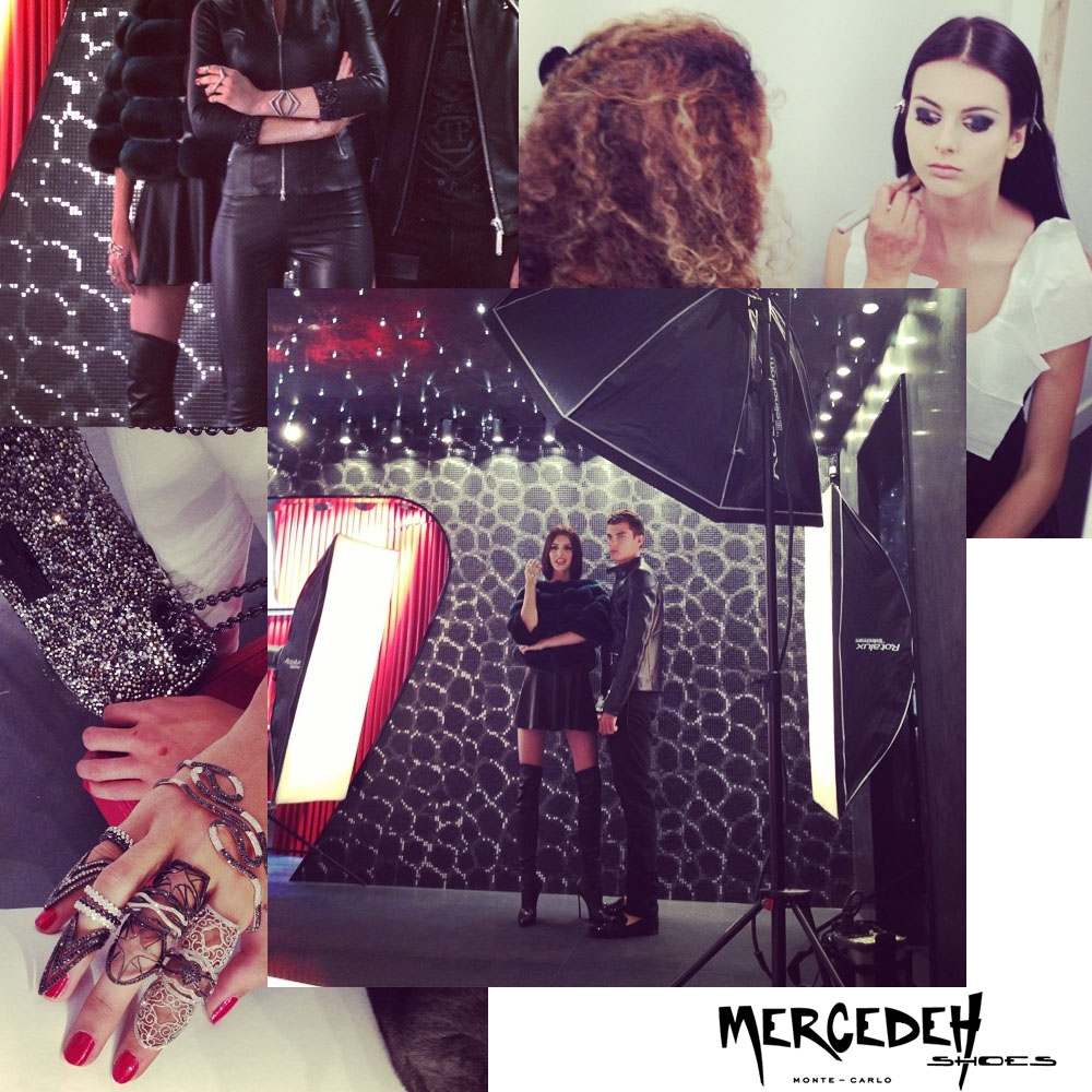 behind the scene at Mercedeh-Shoes