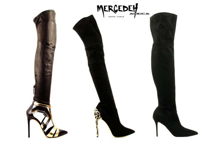thigh high boots, Mercedeh-Shoes FW2014
