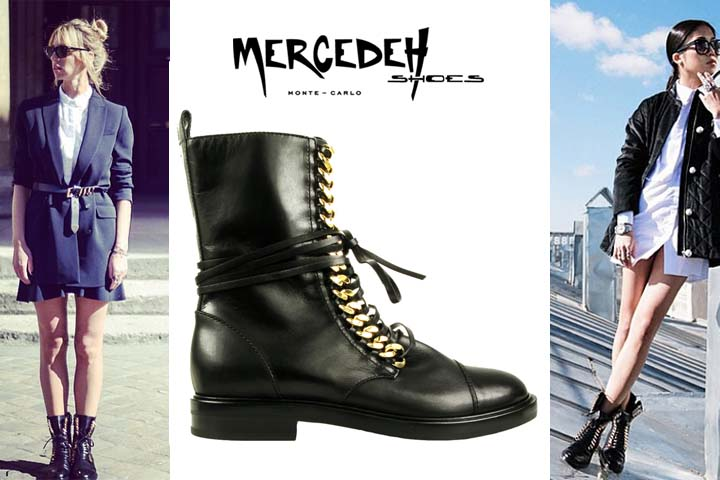 Combat boots, Mercedeh-Shoes FW2014