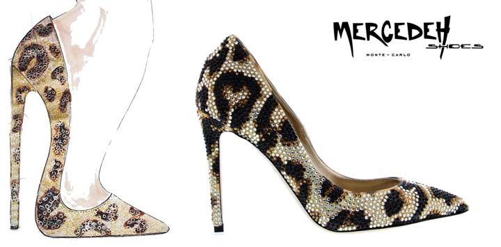 Leopard pumps, Mercedeh-Shoes FW2014-2015