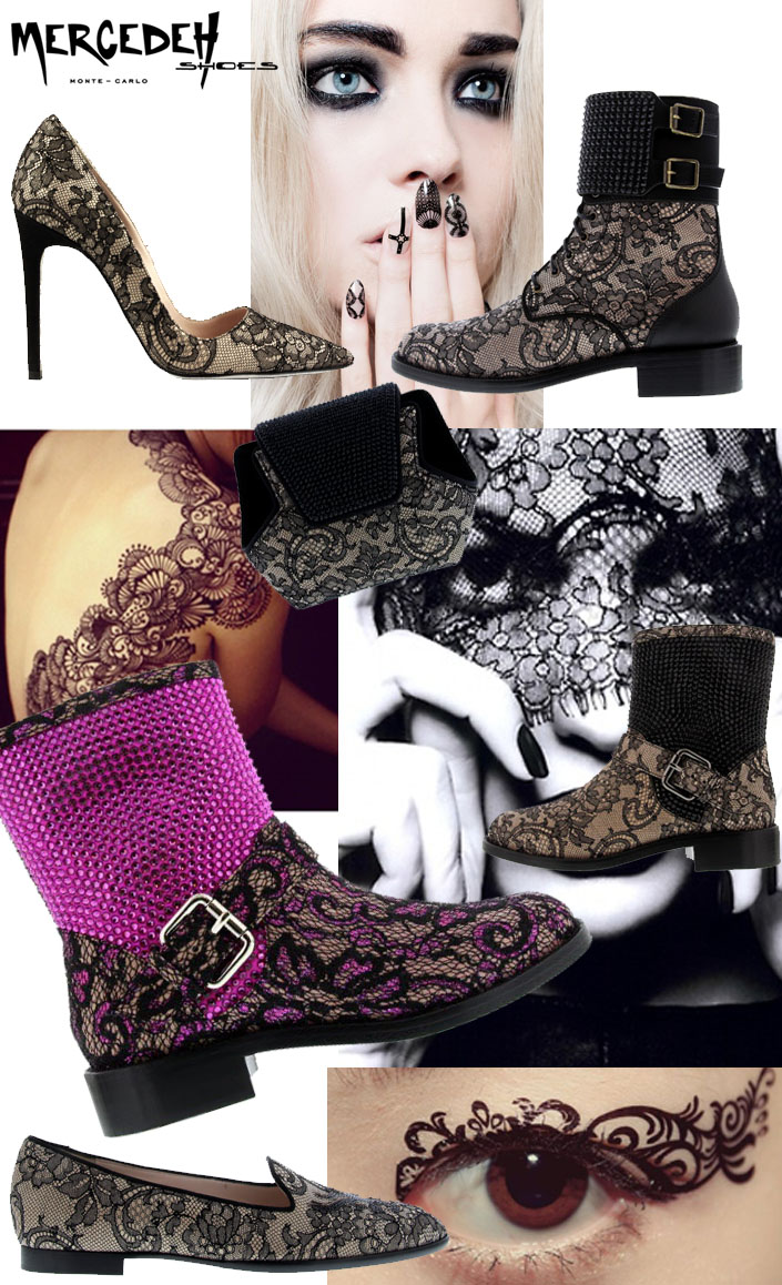 lace pumps, Fall Mercedeh-Shoes FW 2014/2015