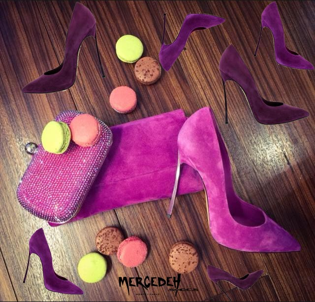 macaron and heels, Mercedeh-Shoes FW2014